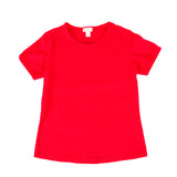 Women's Favorite Tshirt, Crew Neck in Cardinal Red (short sleeve)