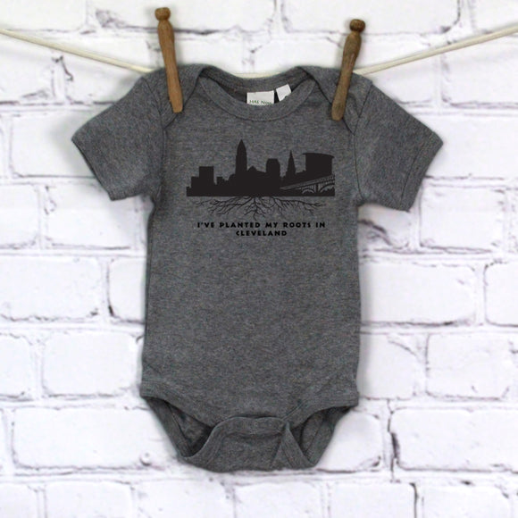 Planted Roots by Sr. Mary Eileen Boyle Printed Onesie
