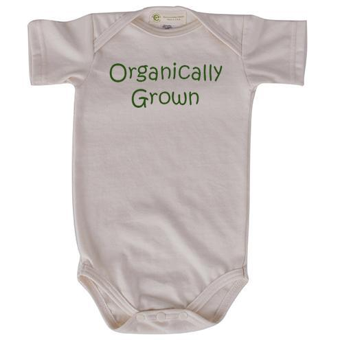 Organically Grown by Sr. Mary Eileen Boyle Printed Onesies and Rompers