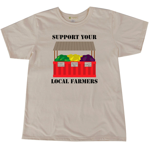 Local farmers short sleeve adult/youth Tshirt