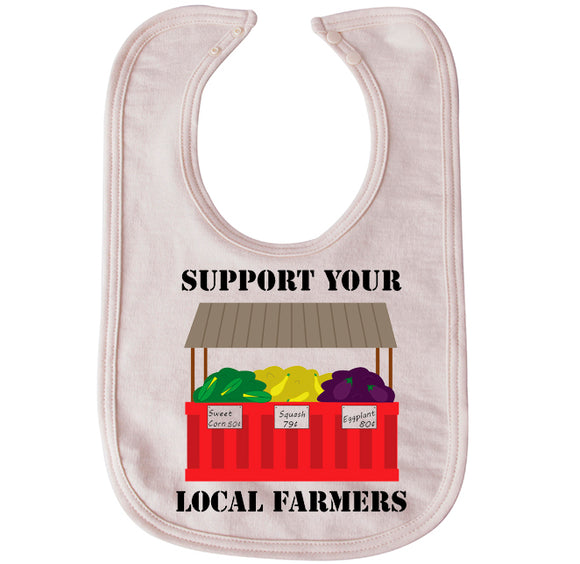 Local Farmers bib