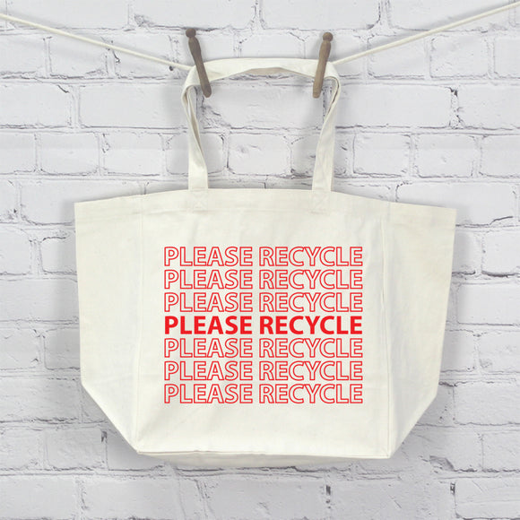 Please Recycle, Tote Bag