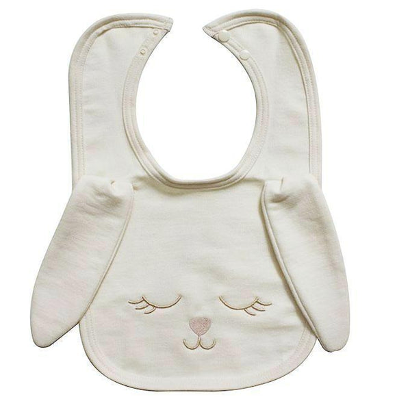 Bunny Bib, Organic Cotton