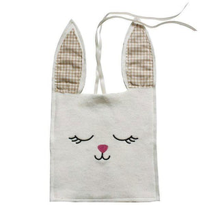 Natural Bunny gift bag