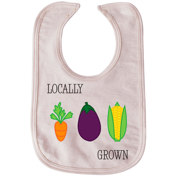 Locally grown bib