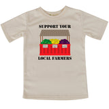 Local farmers short sleeve toddler Tshirt
