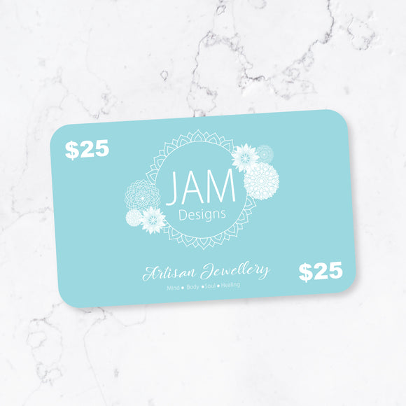 $25 eGiftCard JAM Designs Boutique