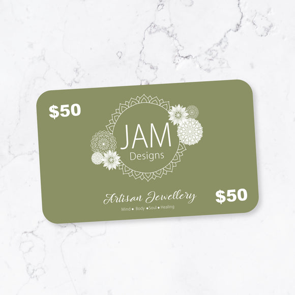 $50 eGiftcard Jam Designs Boutique