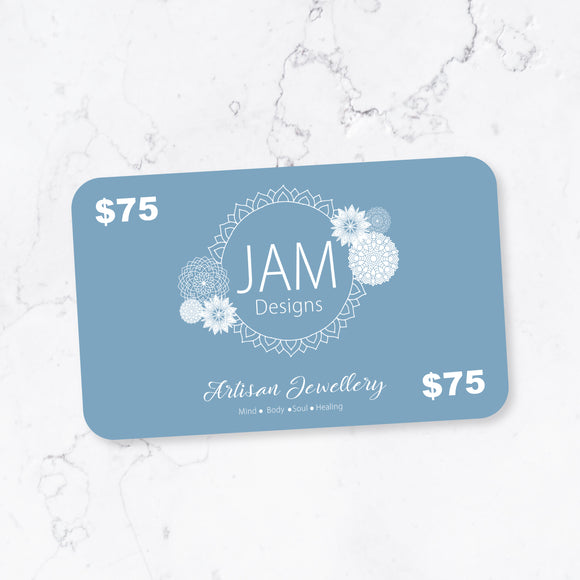 $75 eGiftcard Jam Designs Boutique