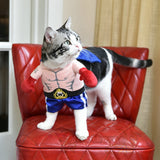 Funny Cat Boxer Cosplay Suit