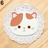 Cat Shaped Tea Coaster Pad