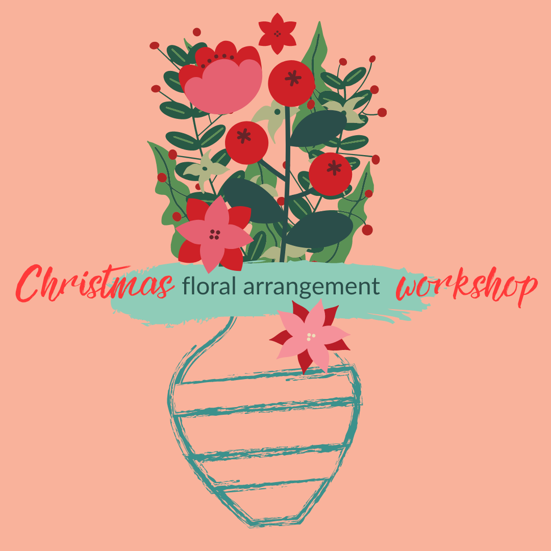 Christmas Floral Arrangement Workshop