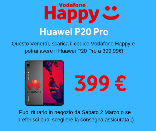 Huawei P20 Pro Happy Moment