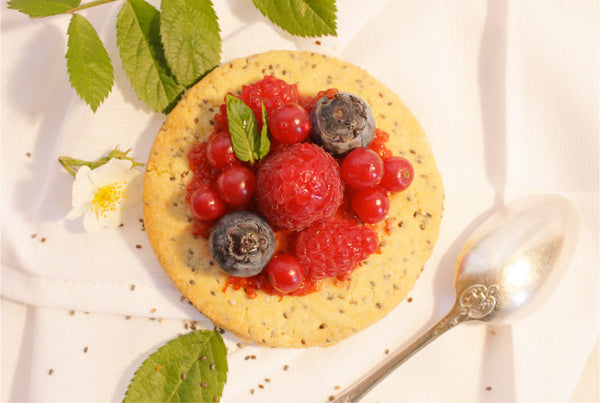 TARTELETTE AUX FRUITS ROUGES ET SA GRAINE DE CHIA