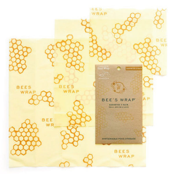 BEE'S WRAP – PACK OF 3