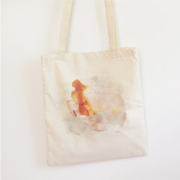 ABSTRACT#5 - TOTE BAG