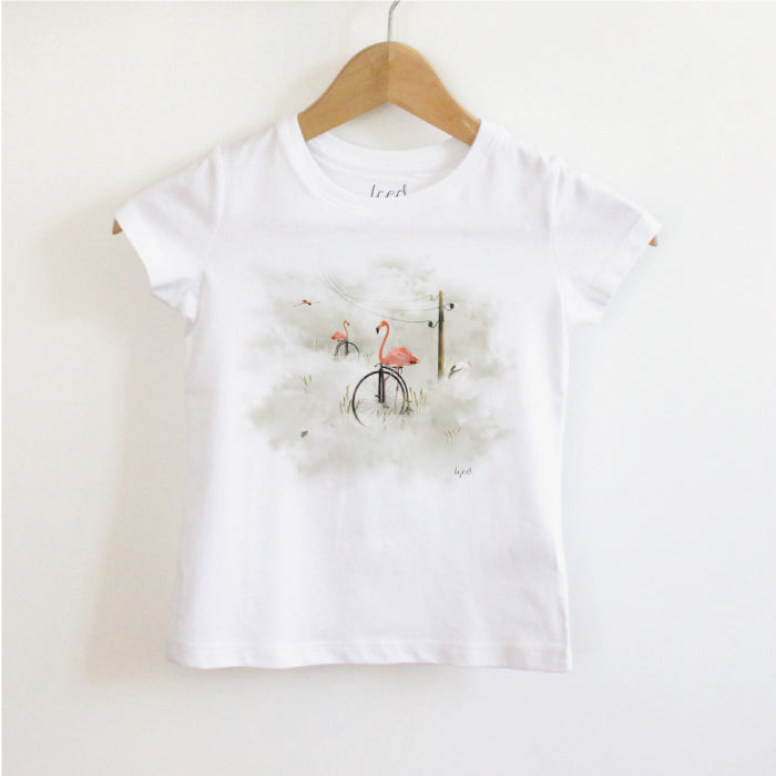 À BICYCLETTE - T-SHIRT ENFANT