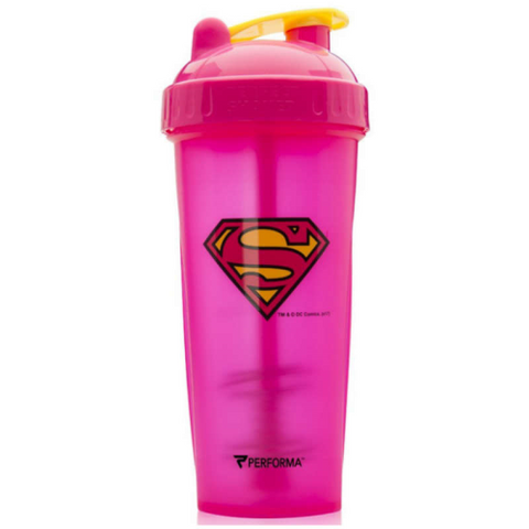 DC Comics SUPERGIRL PINK Perfect Shaker by Performa