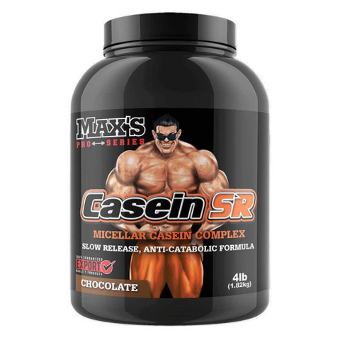 Max's Pro Series Casein SR - Fitness Fanatic Supplements Australia