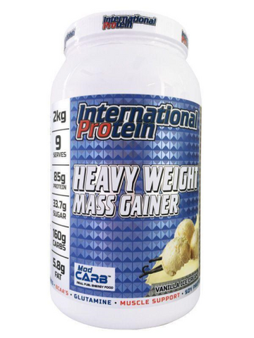 International Protein Heavy Weight Mass Gainer - Fitness Fanatic Supplements Australia