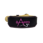 "Rappd 4"" Leather Weight Lighting Belt"