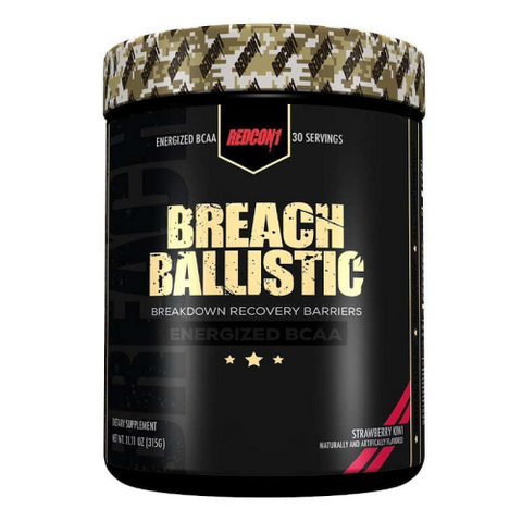 Redcon1 Breach Ballistic Energized - Fitness Fanatic Supplements Australia