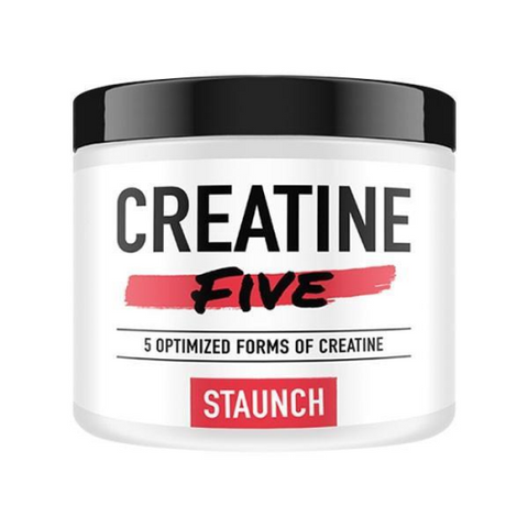 Staunch Nutrition Creatine Five - Fitness Fanatic Supplements Australia