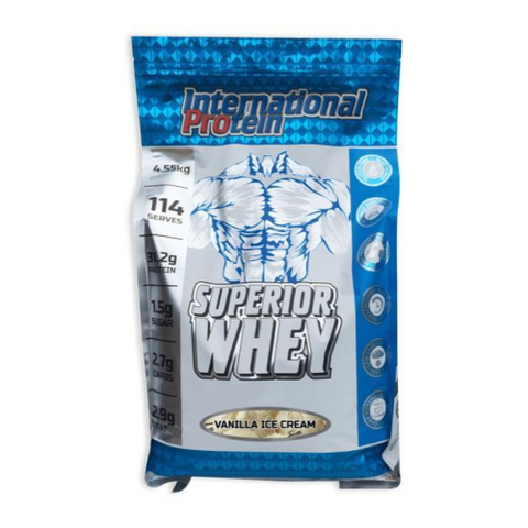 International Protein Superior Whey - Fitness Fanatic Supplements Australia