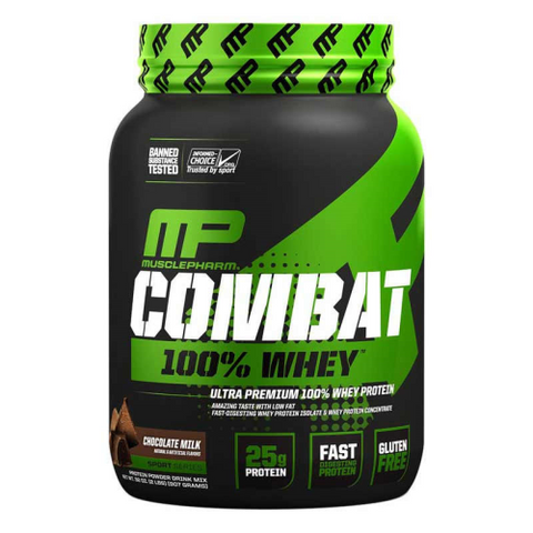 MusclePharm Combat 100% Whey - Fitness Fanatic Supplements Australia