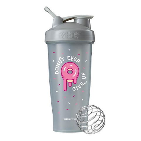 Blender Bottle Classic Special Edition Donut Ever Give Up