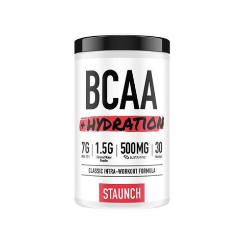 Staunch Nutrition BCAA + Hydration - Fitness Fanatic Supplements Australia
