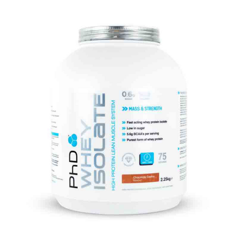 PhD Nutrition Whey Isolate