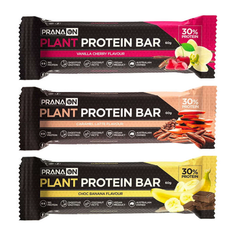 Prana ON Plant Protein Bars - Fitness Fanatic Supplements Australia
