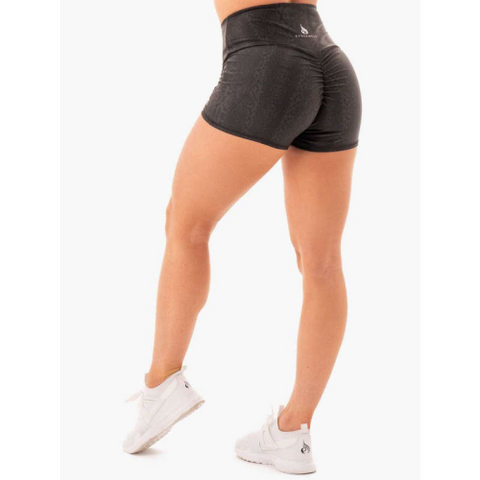 RYDERWEAR NEM X RW SCRUNCH BUM SHORTS