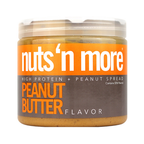 Nuts n more High Protein + Peanut Spread