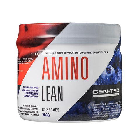 Gen-Tec Nutrition Amino Lean - Fitness Fanatic Supplements Australia