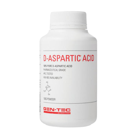 Gen-tec Nutrition D-Aspartic Acid - Fitness Fanatic Supplements Australia