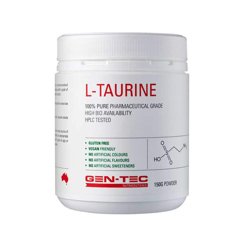 Gen-tec Nutrition L-Taurine - Fitness Fanatic Supplements Australia