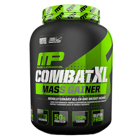 MusclePharm Combat XL Mass Gainer - Fitness Fanatic Supplements Australia