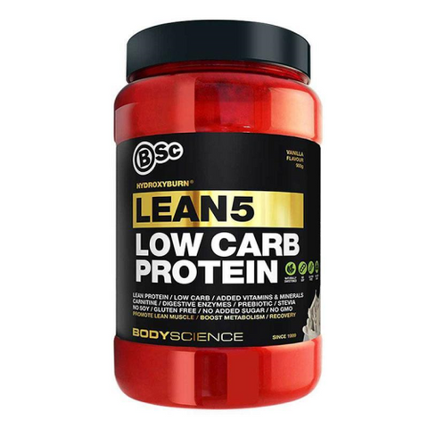 BSc Body Science HydroxyBurn Lean 5 Low Carb