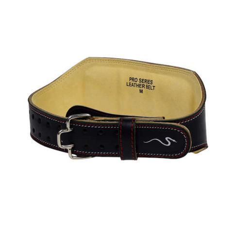 "Rappd 6"" Leather Weight Lifting Belt"