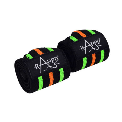 "Rappd Heavy Duty Wrist Wraps Brawn 24.4"" - Fitness Fanatic Supplements Australia"