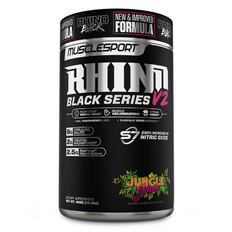 MuscleSport Rhino Black Series V2