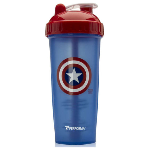 Marvel CAPTAIN AMERICA Perfect Shaker by Performa - Fitness Fanatic Supplements Australia
