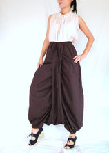 Load image into Gallery viewer, Women Brown Sarouel Pants Unique Festival Pants