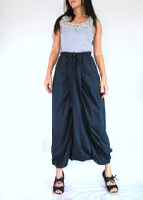 Load image into Gallery viewer, Navy Blue Women Sarouel Pants