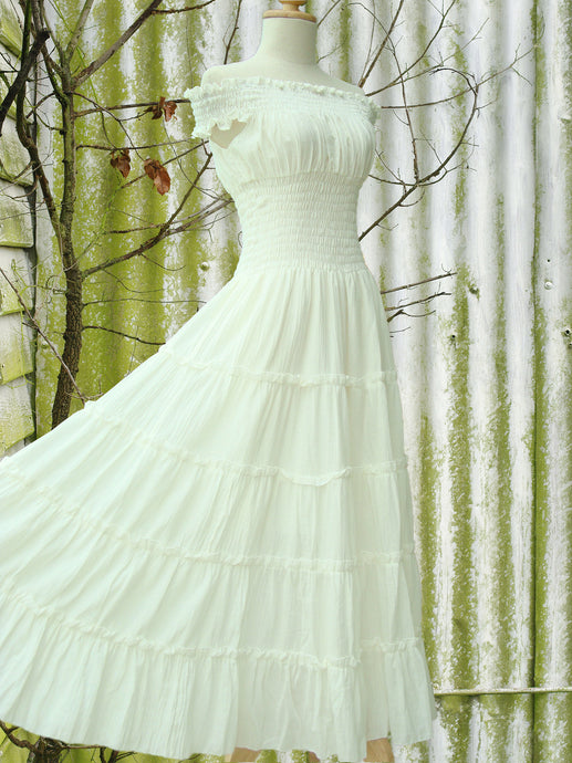 Summer Wedding Dress Bridal Beach Wedding Dress - Ivory