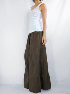Flares Pants | Wide leg trousers & flare trousers - Brown