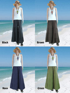 Wide Leg Pants Casual Flare Trousers