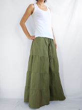 Load image into Gallery viewer, Green Flares Pants | Wide leg pants & flare trousers